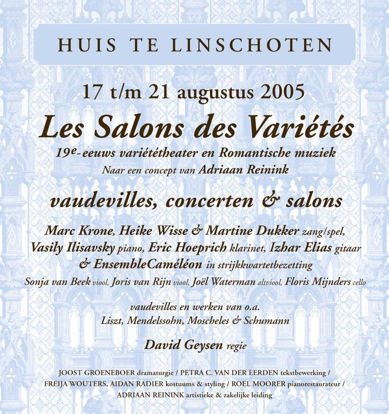 Les Salons des Variétés – Vaudeville & Romantiek 1830-1865