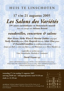 HL LesSalons des Variétés flyer