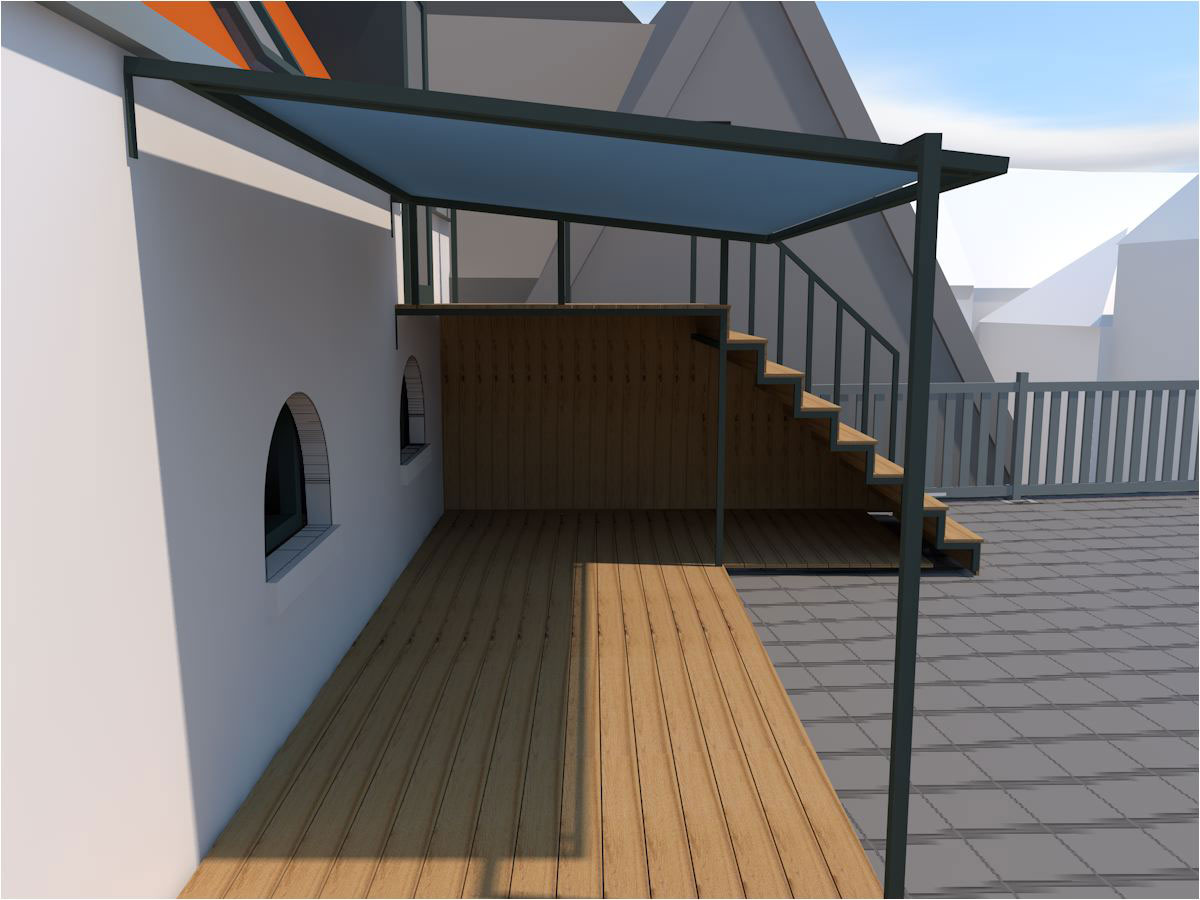 canopy, shelter, stairs & stand 2014