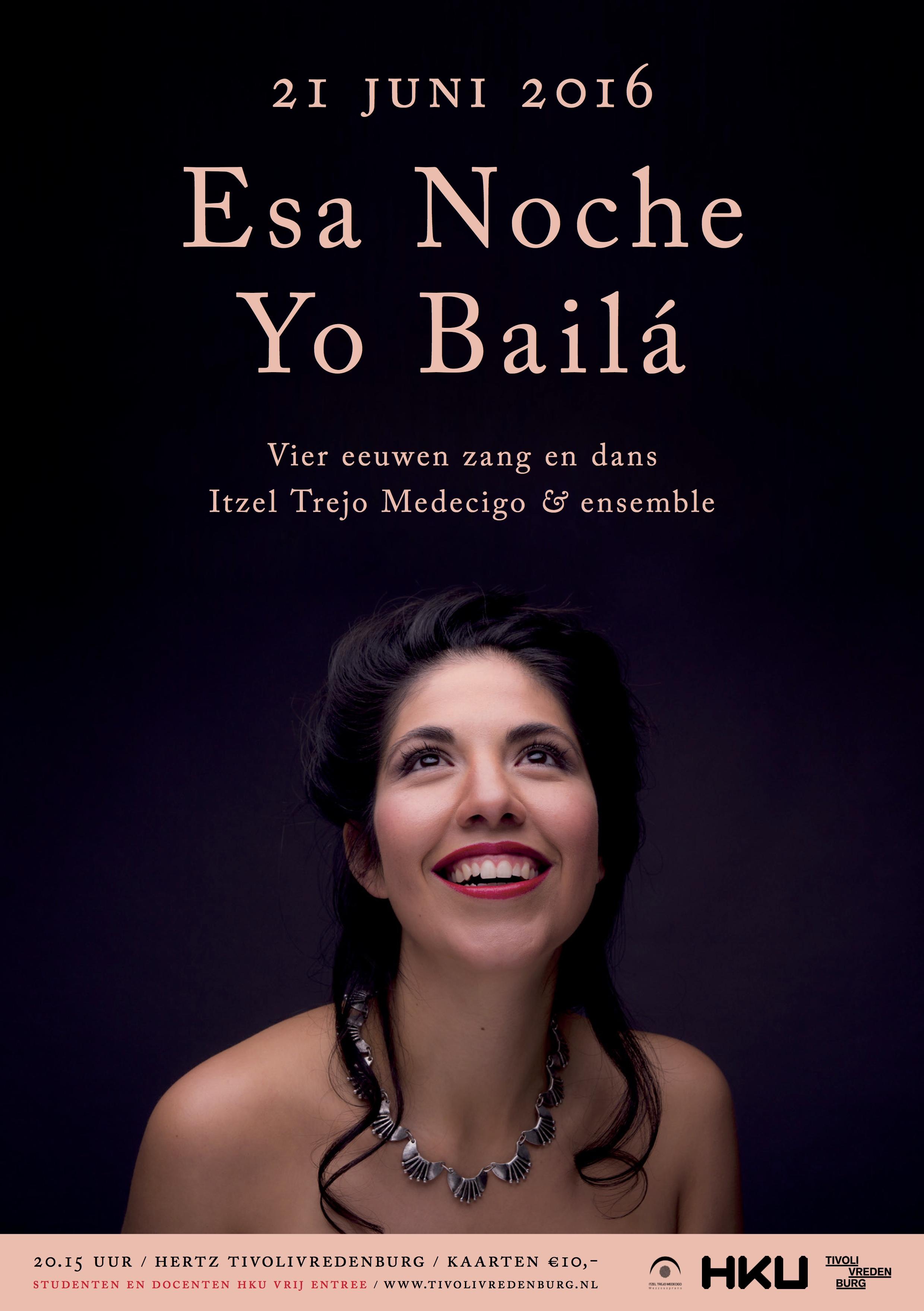 Esa Noche Yo Bailá A2 poster